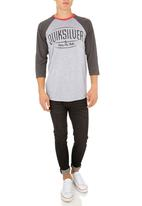 Quiksilver - Strike Twice T-shirt Grey