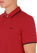 Ben Sherman - Tipped Golfer Red
