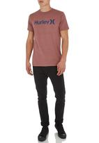 Hurley - One and Only Heather Tee Red