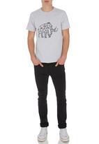 Ice Age - Mammoth T-shirt Grey  Pale Grey