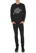 Ice Age - Long-sleeve Mammoth T-shirt Black