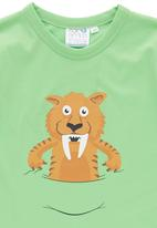 Ice Age - Tiger Short-sleeve Top Green