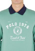 POLO - Classic Crew Sweater Green