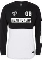 Head Honcho - Levels logo long-sleeve tee Black