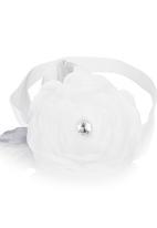 Tyttöni - White and grey headband White