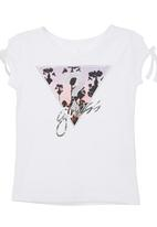 GUESS - Printed Triangle T-shirt White