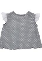Precioux Baby - High Empire Line Top Grey
