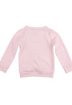 Seesaw - Printed Sweater Pale Pink Pale Pink