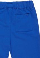 Rebel Republic - Cotton Fleece Sweatpants Blue Mid Blue