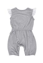 Precioux Baby - Jumpsuit with Lace Grey