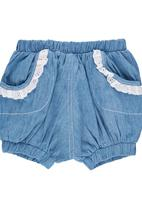 Precioux Baby - Bloomer Shorts Mid Blue