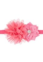 Tyttöni - Flower Headband Dark Pink  Dark Pink