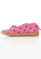 shooshoos - Polka-dot Pump Dark Pink