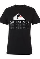Quiksilver - Revealed Tee Black