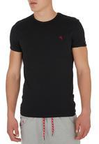SOVIET - Short Sleeve Top Black Black