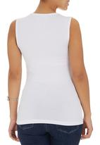 edit - Knot Front T-shirt White