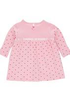 Luke & Lola - Empire Dress Mid Pink