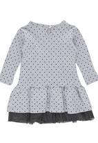 Luke & Lola - Drop Waist Dress Grey