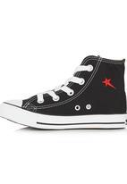 SOVIET - Hi-top Sneaker Black