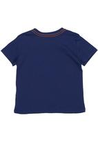 GUESS - Guess State of Mind Tee Navy