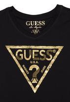 GUESS - Triangle T-shirt Black