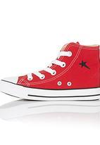 SOVIET - Hi-top Sneaker Red