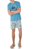 Quiksilver - Revealed Tee Mid Blue