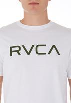 RVCA - Big RVCA Tee White