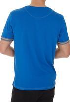 Smith & Jones - Gunton tee Blue (mid blue)