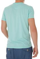 Russell Athletic - Printed crew-neck tee Green