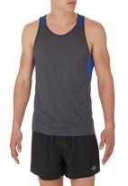 edge - Performance Vest with Panel Inset Blue