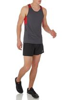 edge - Performance Vest with Panel Inset Red
