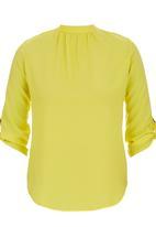 STYLE REPUBLIC - Open Back Blouse Yellow
