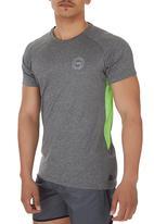 Lithe - Performance T-shirt Mid Grey Mid Grey