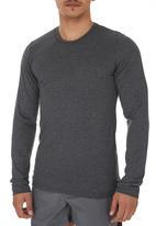 Lithe - Long-sleeve T-shirt Grey Dark Grey