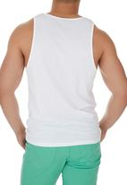 Unruly Clothing - No Good Vest White
