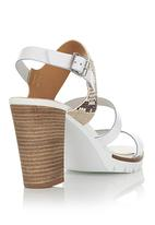 Bullboxer - Heeled Strappy Sandals White