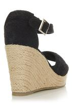 TWIGY - Crochet Wedge Black