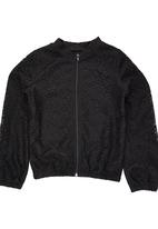 Rebel Republic - Lace Bomber Jacket Black