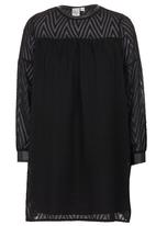 Game of Threads - Retro Puff Dress Black