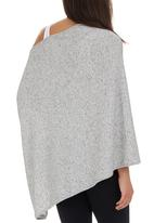 Me-a-mama - Multi-way Maternity Pashmina Mid Grey