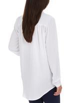 Me-a-mama - Karoo Shirt White