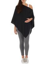 Me-a-mama - Multi-way Maternity Pashmina Black