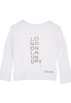 The London Laundry - Alaska Top with Print White