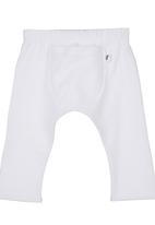 The London Laundry - Puff Pants White