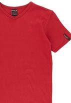 SOVIET - Boys Muscle Top Red