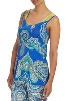 Maya Prass - Amani Vest Cobalt