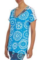 Maya Prass - Farah Pullover Top Turquoise