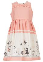 POP CANDY - Dolly Dress Coral
