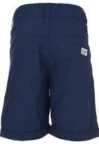 London Hub - Twill Shorts Navy